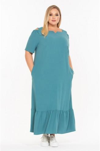 Платье МИЛЕДИ цвет морская волна