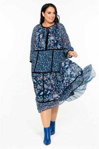 Платье ВДОХНОВЕНИЕ цвет диджитал принт
