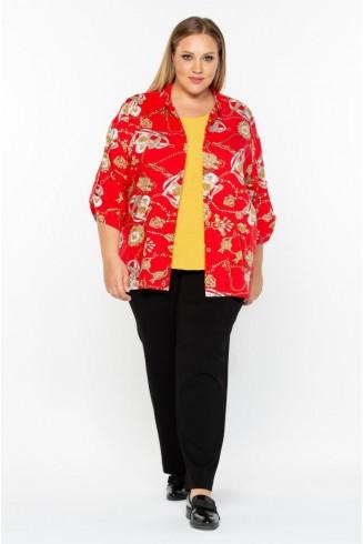 Рубашка ЦЕПИ цвет красный